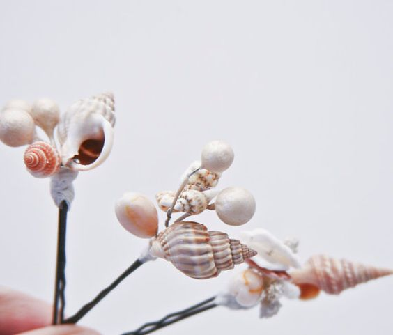 Shells Hair Pins