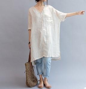 Summer Trend Linen Kurta
