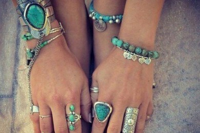 Flaunt Boho Turquoise Jewelery Peices Like This