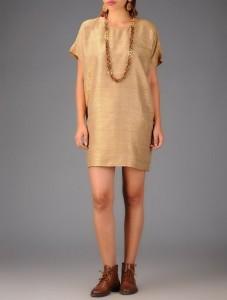 Tussar Dress
