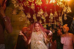 Bridal Flower Canopy with Kaliraien