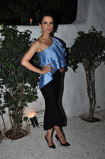 Kangana Ranaut in Frill Top