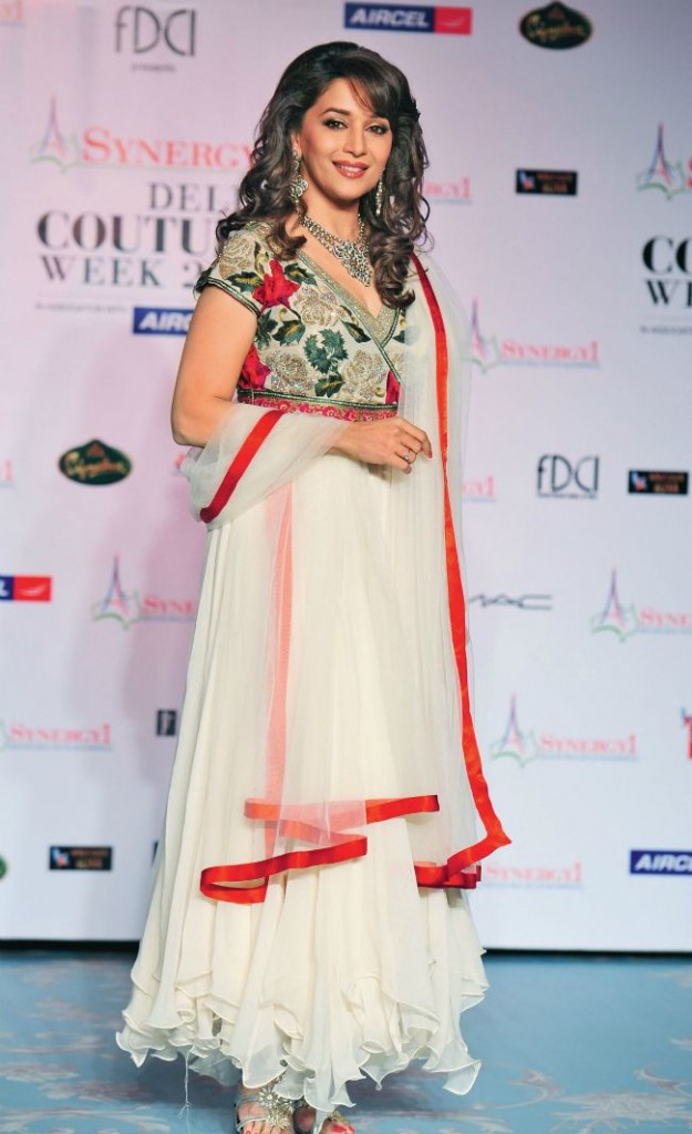 Madhuri in Frill Suit