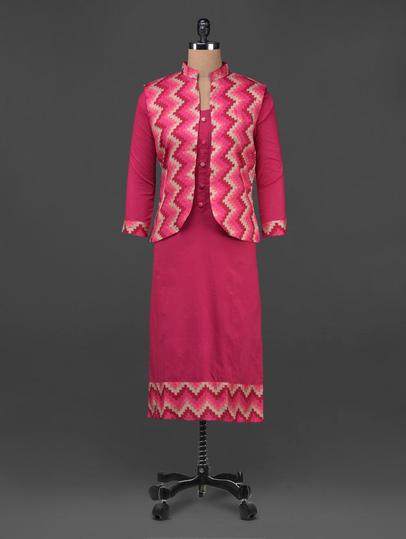 Printed Waistcoat