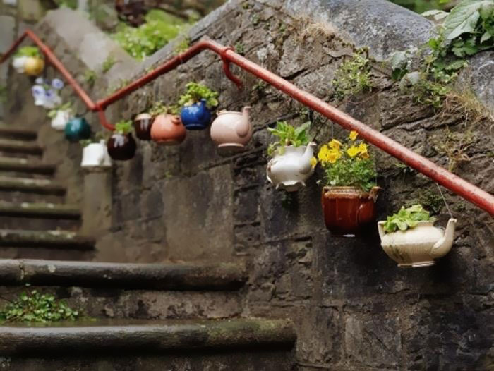Recycled Tea Pots
