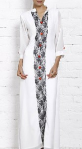 The Vertical Lace Kurti