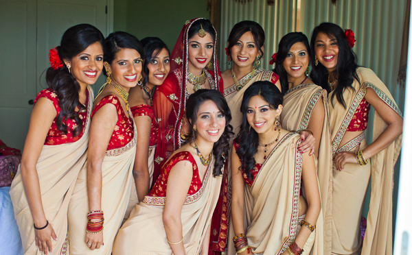 Indian Bridesmaid