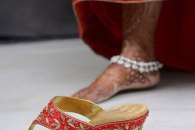 Indian Bridal Footwear