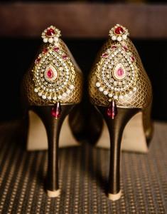 Jewelled Bridal Heels