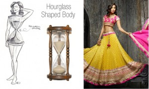 Lehnga for Hourglass Body
