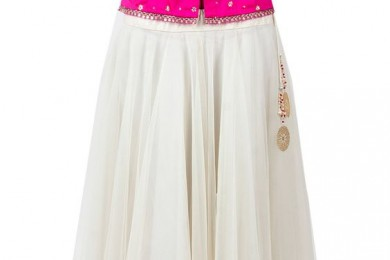 Plain lehnga top
