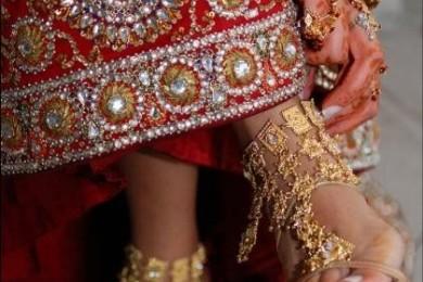 T- strap Bridal footwear