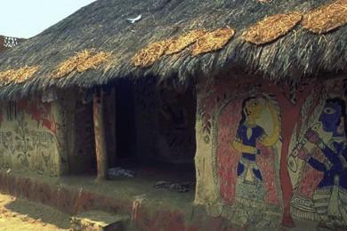 madhubani wall art
