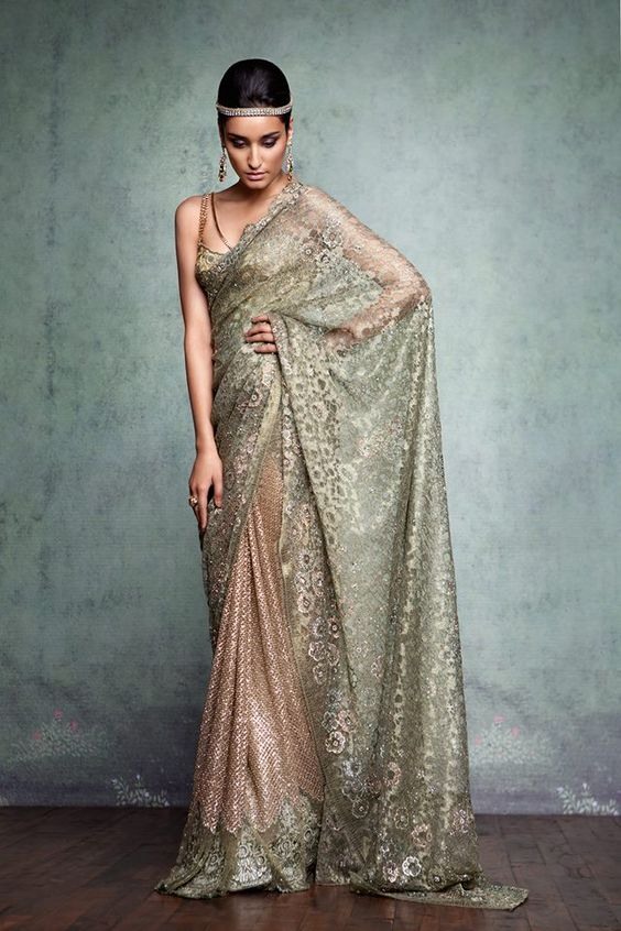 Chantley Lace Saree