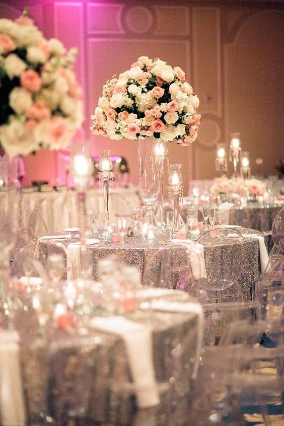 Glitter Inspiration For Wedding Decor Threads