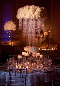 Glitter Wedding Decor