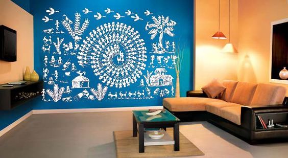 Indian Wall Art & Inspiring Indian Wall Art For Modern Day Homes | Threads