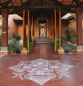 Kolam Rangoli of South India