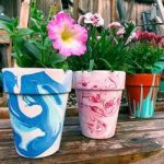 DIY Marbling With Nail Paints