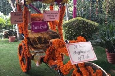 Mehndi Ceremony Decor