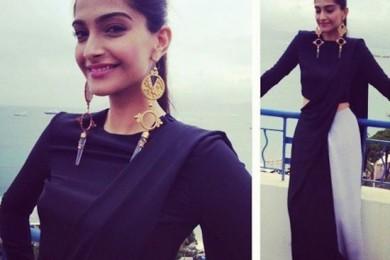 Taking Inspiration From Sonam Kapoor's Hairstyle