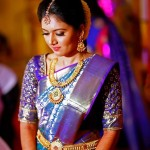 Embroidered Blouses For South Indian Brides