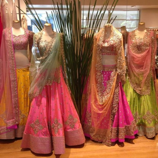 Lehnga color combinations