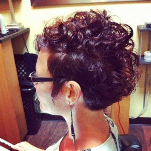 Curly Pixie Style