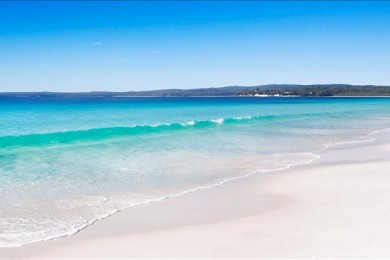 White sand beach, Australia
