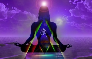 Chanting The Mantra Om