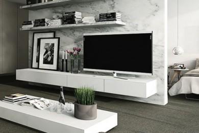 Decorating Area Around Television