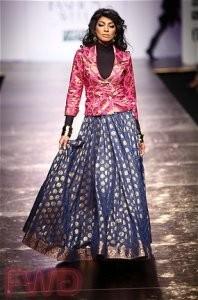 Brocade Skirt Jacket
