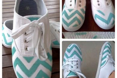 Handpainted Footwear