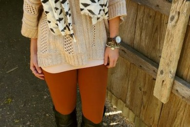 Burnt orange color trend 2016 winter