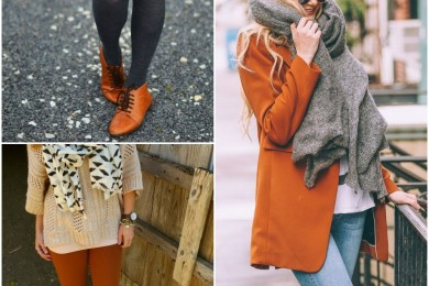 Burnt orange winter 2016 trend