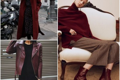 Claret color for winter 2016