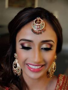 Eye makeup for brides