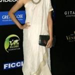 Sonam Kapoor In white draped dress