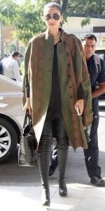 Soonam Kapoor in high boots