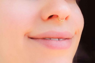 Double septum ring
