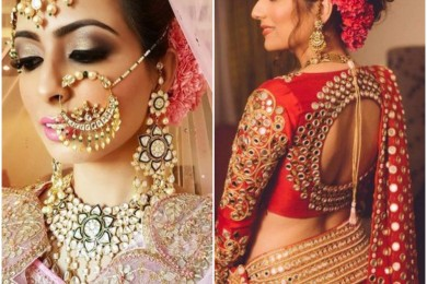 Gajra for brides