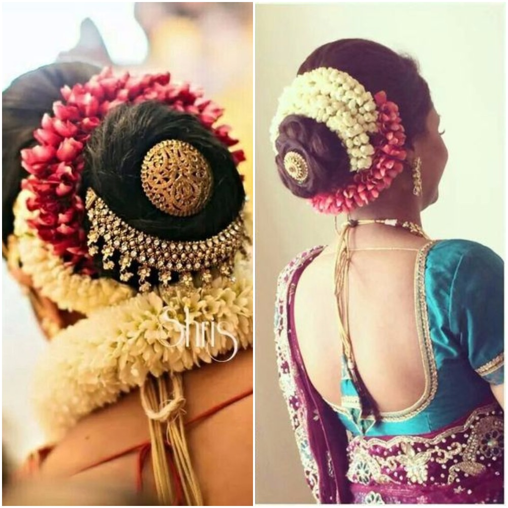 Gajra for brides