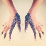 Trending Lace Inspired Heena Designs
