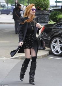 Tall Boots With Skirt