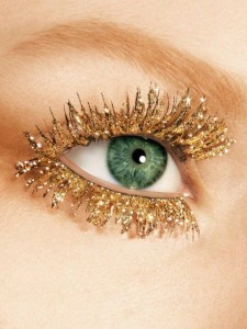 Glitter Mascara - Golden