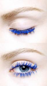 Blue Color Mascara