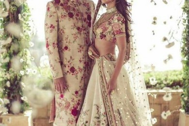 Matching Bridal Ensembles For Couples