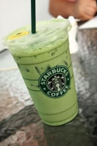 Iced Green tea Latte