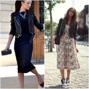 Leather Jacket styling