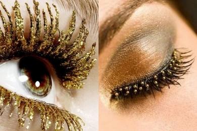 Golden Eye Look